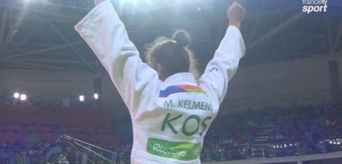 Majlinda Kelmendi fiton medaljen e artë në Lojërat Evropiane në Minsk