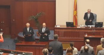 Kuvendi i Maqedonisë miratoi Ligjin për gjuhën shqipe (Video)