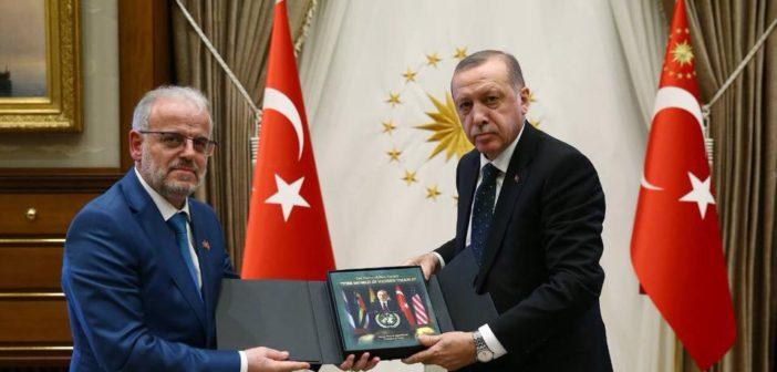 Takim Xhaferi – Erdogan: Mbështetje nga Turqia për integrimin e Maqedonisë në NATO