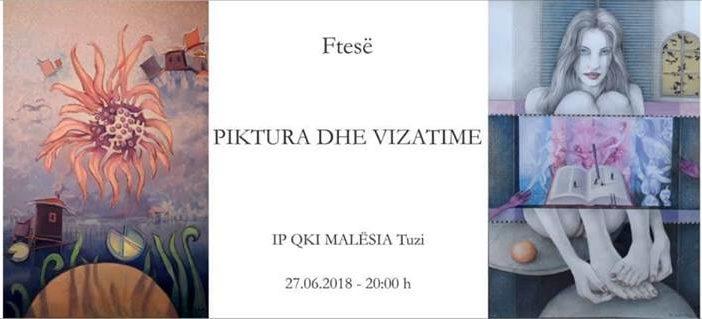 Bilal Nikezi nga Ulqini, të mërkurën ekspozon pikturat e tija në Tuz