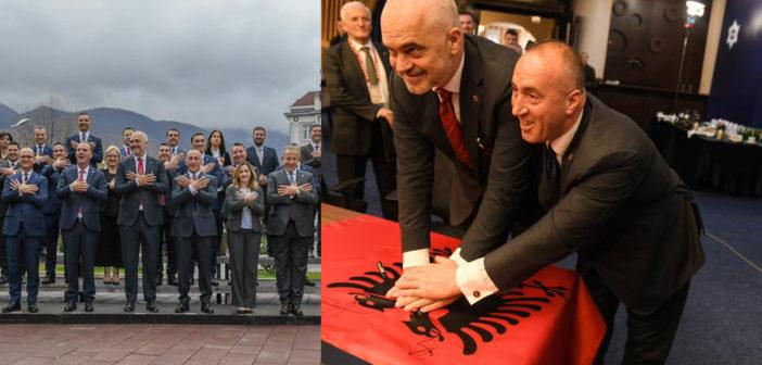 U mbajtë në Pejë mbledhja e dy qeverive të Kosovës dhe Shqipërisë (Video)
