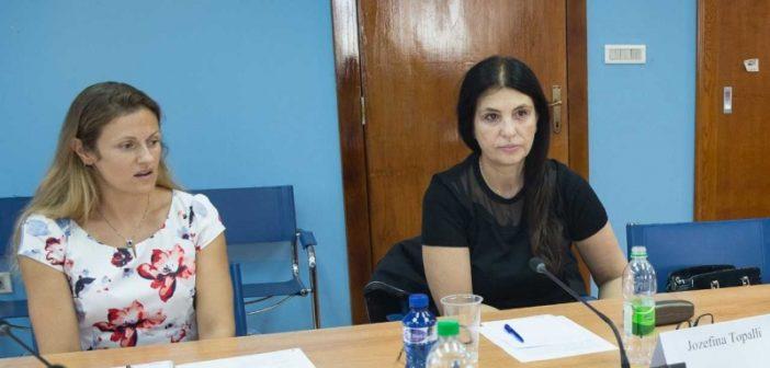 Jozefina Topalli eksperte e OSBE-së në Mal të Zi