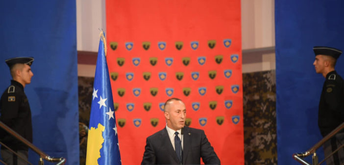 Ramush Haradinaj shpall kandidaturën për President të Kosovës