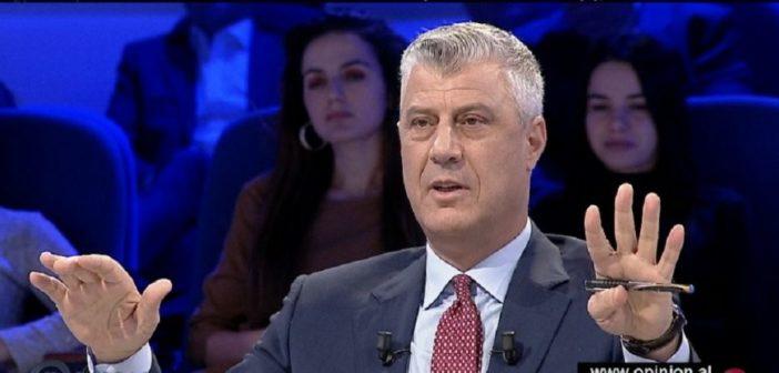 Kercenon Thaçi: Luft mund të ketë, por territori i Kosovës nuk preket (Video)