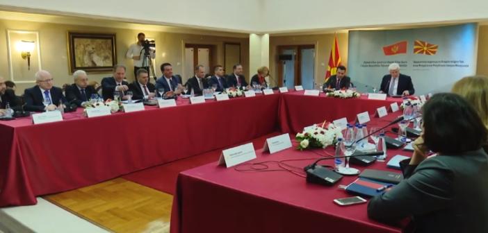 Seanca e përbashkët Shkup-Podgoricë, u nënshkruan disa marrëveshje (Video)