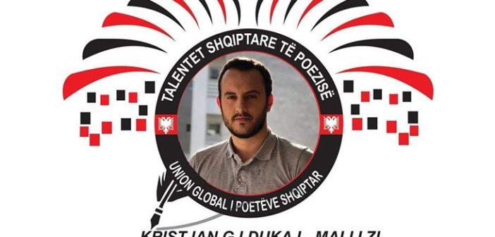 Kristjan Dukaj antar i Unionit Global të poetëve shqiptar