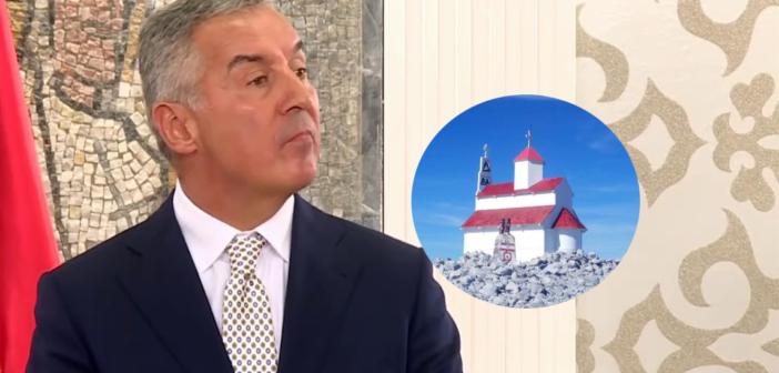 Gjukanoviq: Kemi pasur tolerancë të tepërt për Kishën në Rumi