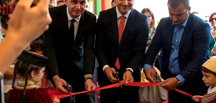 Gjeloshaj dhe Shehoviq hapën kopshtin e ri në Tuz për më shumë se 200 fëmijë