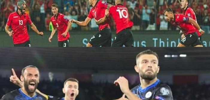 Mbrëmje e çmendur, 14 gola në ndeshjet e Shqipërisë dhe Kosovës