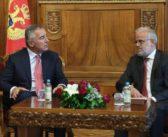 Xhaferi – Gjukanoviq: Të intensifikohen marrëdhëniet mes dy vendeve