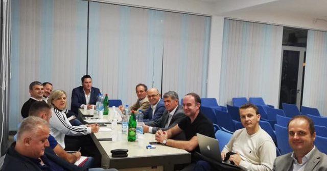 """U mbajt takimi i Koalicionit """"Shqiptarët e Vendosur"""""""