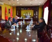 Ambasadori i Kosovës, Ylber Hysa vizitojë Komunën e Ulqinit