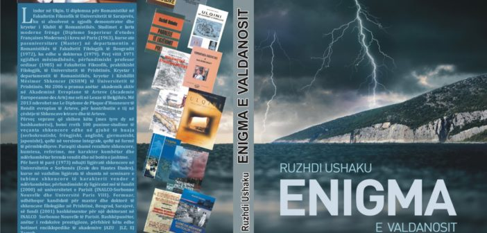 """Është botuar libri """"Enigma e Valdanosit"""" të prof. dr. Ruzhdi Ushaku"""