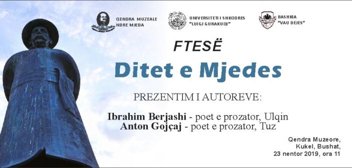 """Neser """"Ditet e Mjedes"""", Prezantohen autorët Berjashi dhe Gojçaj"""
