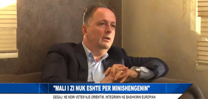 Mali i Zi nuk është për minishengenin – Gegaj: Kemi vetëm një orientim, integrimin në BE