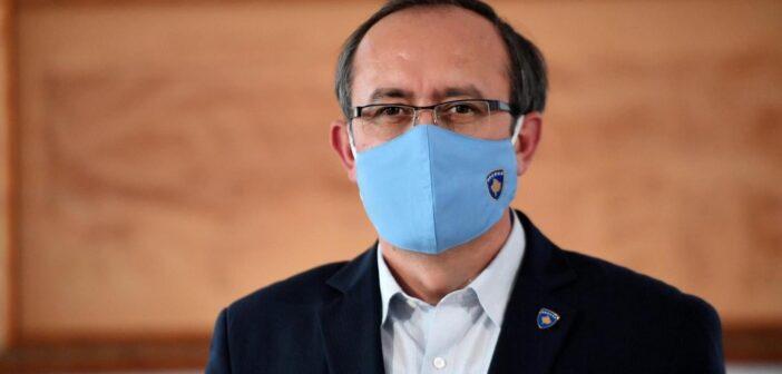 Kryeministri i Kosovës, Avdullah Hoti, ka rezultuar pozitiv në COVID-19