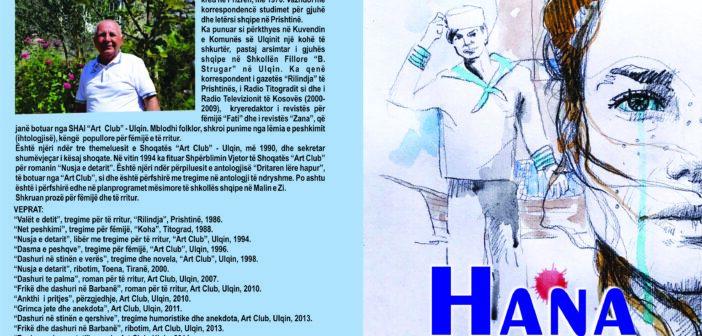 """Hana"", romani i ri i shkrimtarit Asllan Bisha"