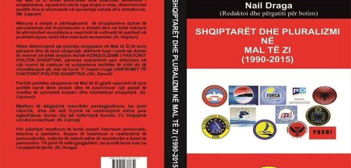 """Art Club botoi librin """"Shqiptarët dhe pluralizmi në Mal të Zi (1990-2015)"""""""