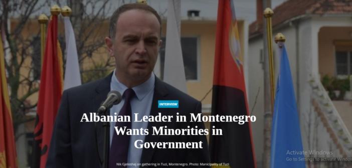 BIRN: Lideri i shqiptarëve në Mal të Zi i do pakicat në qeveri