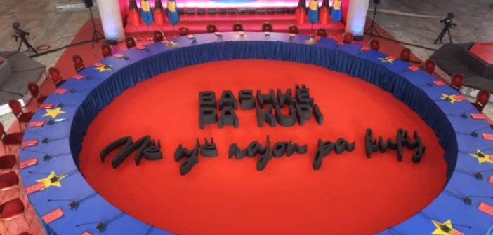Slogani i takimit Kosovë-Shqipëri: Bashkë pa kufi
